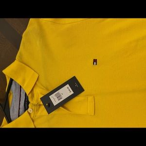Yellow Tommy Hilfiger polo